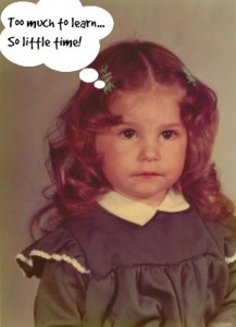 Shani as a little girl