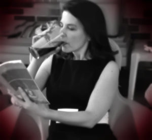 What I want: Drink and a book